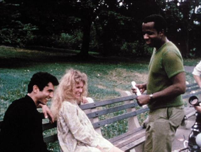 William Greaves directs alternate actors in a different part of the park in Symbiopsychotaxiplasm: Take One (1968)