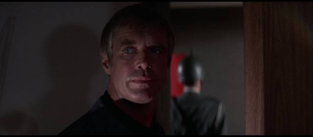 Government agent Tuxan (George Peppard) is a fascist hero in Lamont Johnson's The Groundstar Conspiracy (1972)