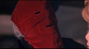 Edward Markham (Alister Williamson) returns to England a murderous madman in Gordon Hessler's The Oblong Box (1969)