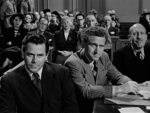 Dogged investigation leads eventually to a successful trial in Joseph H. Lewis' The Undercover Man (1949)