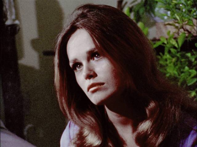 Lynn (Judith Ridley) is attracted to Chris (Ray Laine)'s carefree attitude in George A. Romero's There's Always Vanilla (1971)