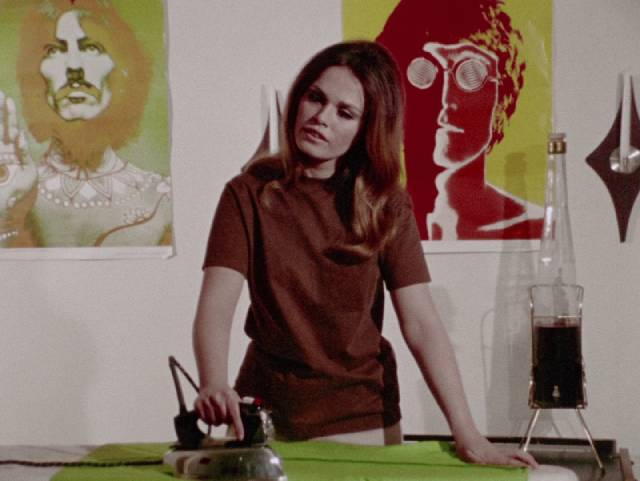 Lynn (Judith Ridley) becomes tired of bland domesticity in George A. Romero's There's Always Vanilla (1971)