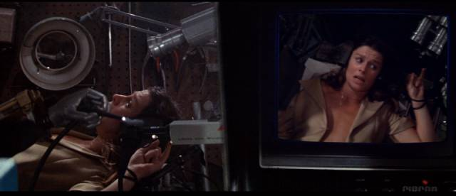 Julie Christie is stalked by a sentient AI in Donald Cammell's Demon Seed (1977)