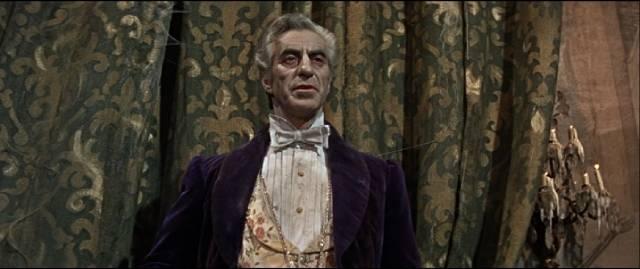 Ferdy Mayne as the elegant Count von Krolock in Roman Polanski's The Fearless Vampire Killers (1967)