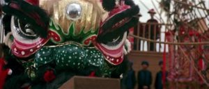 Dragon dances are a motif running through Tsui Hark's Once Upon a Time in China trilogy (1991-92), providing colourful spectacle