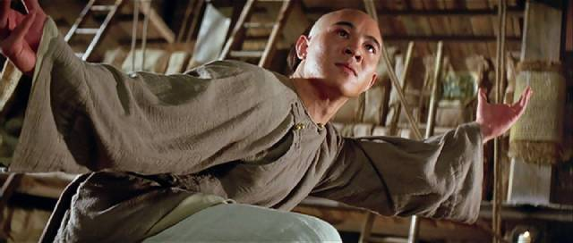 Jet Li as folk hero Wong Fei-hong in Tsui Hark's Once Upon a Time in China (1991)