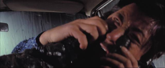 Nothing can save bad guys from the slimy superhero in Ho Meng-hua's The Oily Maniac (1976)