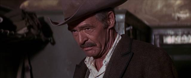 Deke Thornton (Robert Ryan) tracks his former outlaw comrades in Sam Peckinpah's The Wild Bunch (1969)