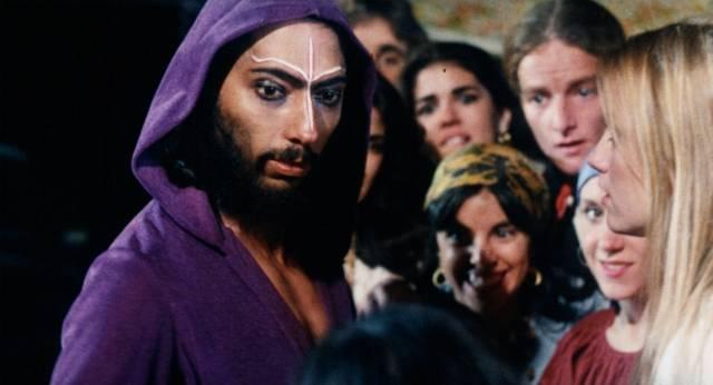 Kajerste (Mark Buntzman) leads an apocalyptic cult in James Glickenhaus' The Astrologer (1975)