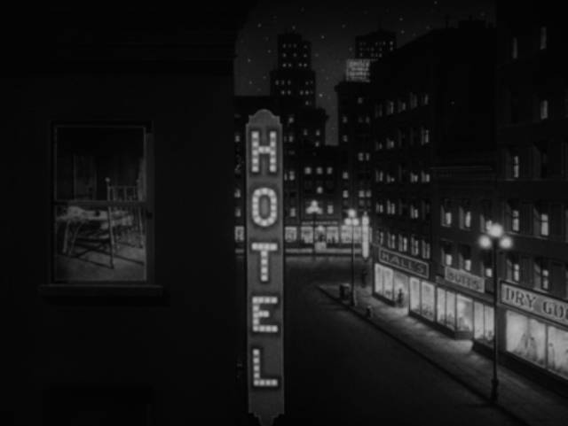 The city at night as a distorted state of mind in John Parker's Dementia (1953)