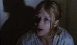 Locked away, Sophy (Marianne Faithful) starts to lose her mind in Stephen Weeks' Ghost Story (1974)