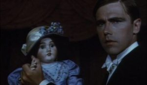 Talbot (Larry Dann) is sensitive to the forces haunting a country estate in Stephen Weeks' Ghost Story (1974)