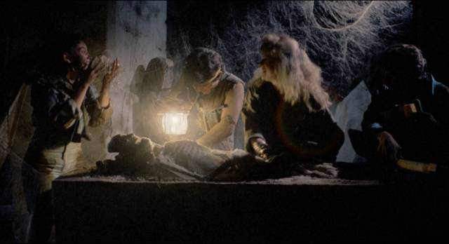 Looting tombs unleashes malevolent forces in Ruben Galindo Jr.'s Grave Robbers (1989)