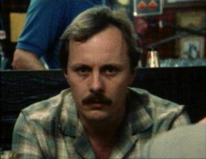 Sunday school teacher Steve Belmont (Eli Rich) has a sideline in murder in Donald M. Jones' Murderlust (1985)