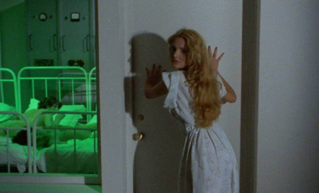 Strange psychic forces are loose in the clinic in Mario Landi's Patrick Still Lives (1980)