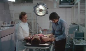 Dr. Devilers (Alain Delon)'s methods are extreme in Alain Jessua's Shock Treatment (1972)