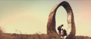 Ben (Jeremy Gardner) and Mickey (Adam Cronheim) wander aimlessly in Jeremy Gardner's The Battery (2012)