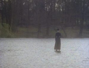 ... and follows Arthur Kidd (Adrian Rawlins) back home in Herbert Wise's The Woman in Black (1989)