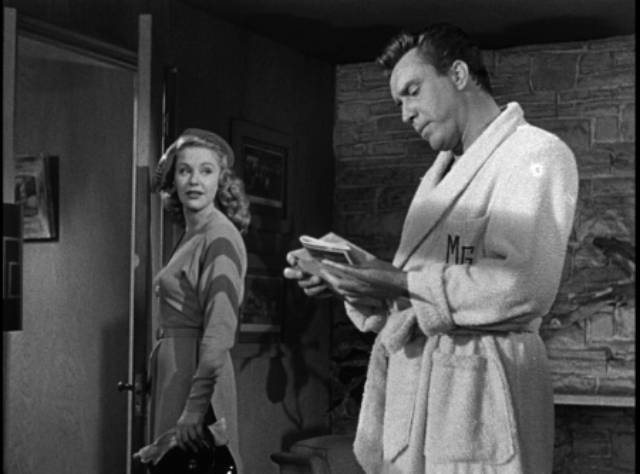 Mal Granger (Edmond O'Brien) loses his charm as he acquires money and power in Joseph M. Newman's 711 Ocean Drive (1950)