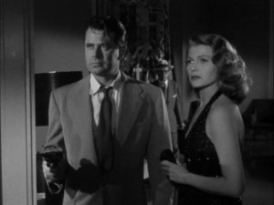 Steve Emery (Glenn Ford) has conflicted feelings about sister-in-law Chris (Rita Hayworth) in Vincent Sherman's Affair in Trinidad (1952)
