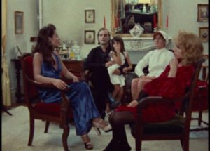 The melodrama begins to unravel as Celine (Juliet Berto) and Julie (Dominique Labourier) interfere with the plot in Jacques Rivette's Celine and Julie Go Boating (1974)