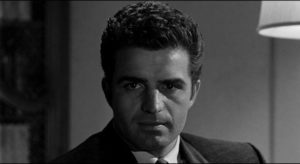 Claude (Vince Edwards) remakes himself as a cold-blooded killer in Irving Lerner's Murder by Contract (1958)