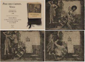 A model rejects the painter's advances in Georges Méliès's Pose chez l'Artiste, Venus / The Irascible Model (1897-98)