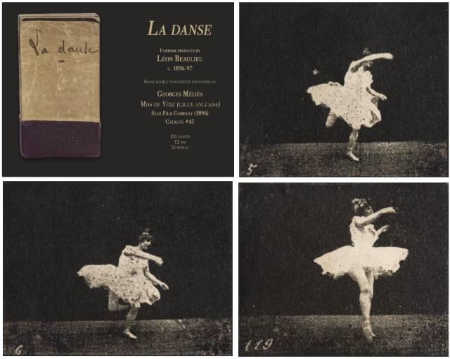 Elise de Vère performs in Georges Méliès's La Danse (c. 1896-97)