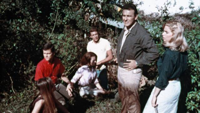 Archaeology students on an Everglades field trip in William Grefé's Death Curse of Tartu (1966)