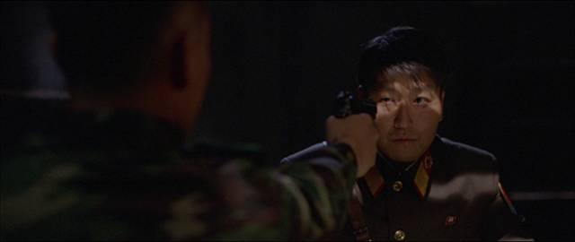 Tentative friendship is undermined by political conflicts in Park Chan-wook's JSA: Joint Security Area (2000)