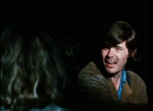 Father John angrily rejects temptation in William Grefé's The Psychedelic Priest (1971)