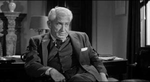Spencer Tracy puts a pleasant face on old-style dirty politics in John Ford's The Last Hurrah (1958)