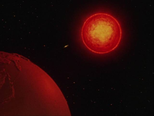 A meteor threatens to destroy Earth in Kôji Shima's Warning from Space (1956)