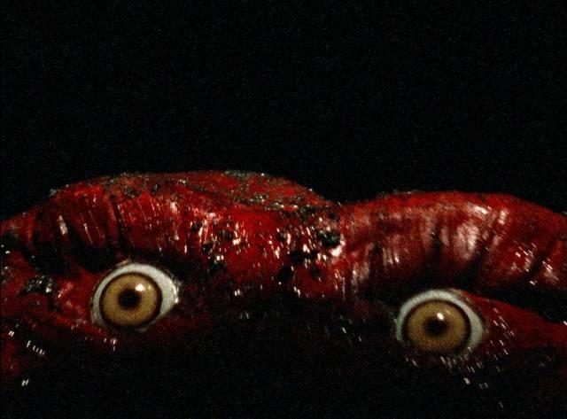 Monsters emerge from a student's dreams in Jay Woelfel's Beyond Dream's Door (1989)