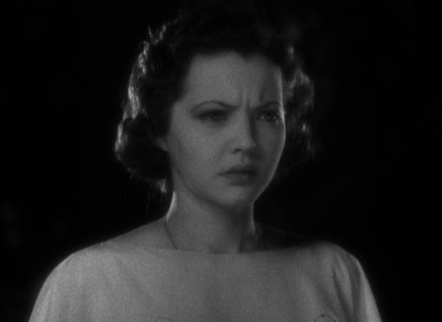 ... and Joan (Sylvia Sidney) immediately senses trouble in Dorothy Arzner's Merrily We Go to Hell (1932)