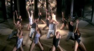 Flashdance-style dance numbers provide period-flavour in Lucio Fulci's Murder-Rock: Dancing Death (1984)