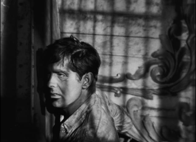 ... the proud, ambitious Stan (Tyrone Power) has fallen as low as it gets in Edmund Goulding's Nightmare Alley (1947)