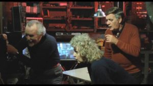 Three millionaires pay people to be subjected to increasingly threatening amusements in Bill Rebane's The Game (1984)