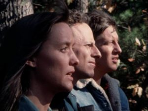 Park rangers stumble across a sacred site... in Christopher Thies's Winterbeast (1992)