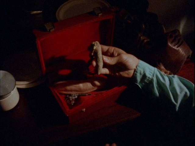 What's in the box?! in Christopher Thies's Winterbeast (1992)