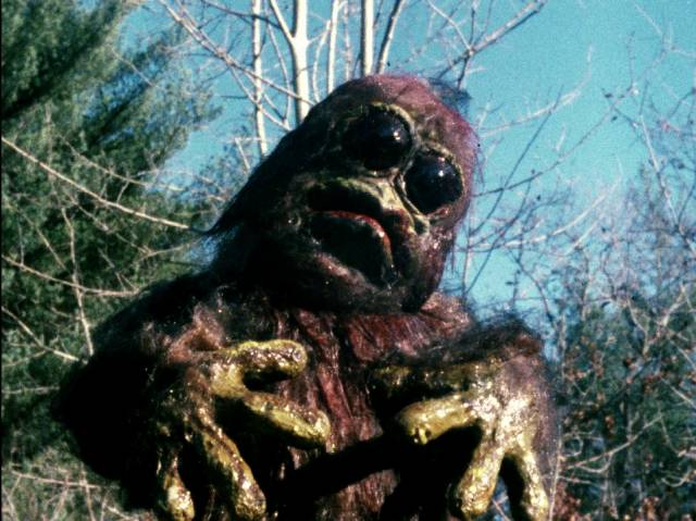 Claymation demons object to intruders on their mountain in Christopher Thies's Winterbeast (1992)