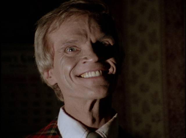 Local lodge owner Dave Sheldon (Bob Harlow) is way too cheerful in Christopher Thies's Winterbeast (1992)