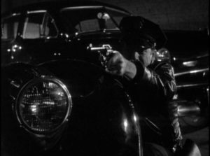 The city streets at night are violent in Gordon Douglas's Between Midnight and Dawn (1950)