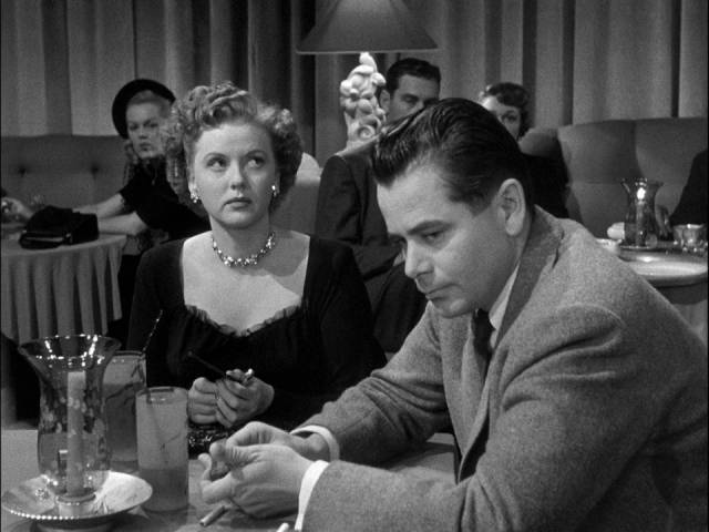 Joe Hufford (Glenn Ford) is fatalistic about the consequences of a rash act in Henry Levin's Convicted (1950)