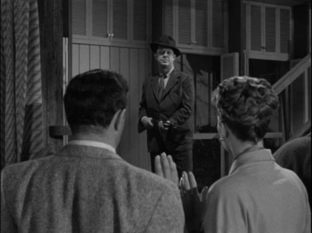 A quiet weekend at the cottage is violently interrupted in Rudolph Maté's The Dark Past (1948)