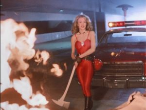 Photo shoots aren't the only danger for a group of fashion models in William A. Graham's Calendar Girl Murders (1984)