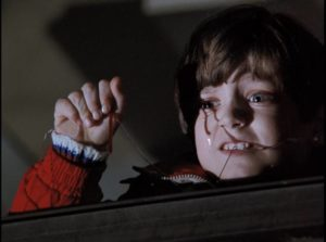 Young Elijah Wood watches as his father is murdered in Mike Robe's Child in the Night (1990)
