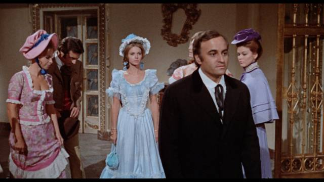 Paul Naschy as Dr. Marlow, aka Dracula, greets his unexpected guests in Javier Aguirre's Count Dracula's Great Love (1973)