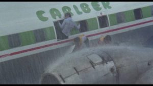 A big storm brings down an airliner in Rene Cardona Jr.'s Cyclone (1978)