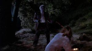 Iris Norwood (Renée Soutendijk) faces her worst fear in Donald P. Borchers' Grave Secrets (1989)